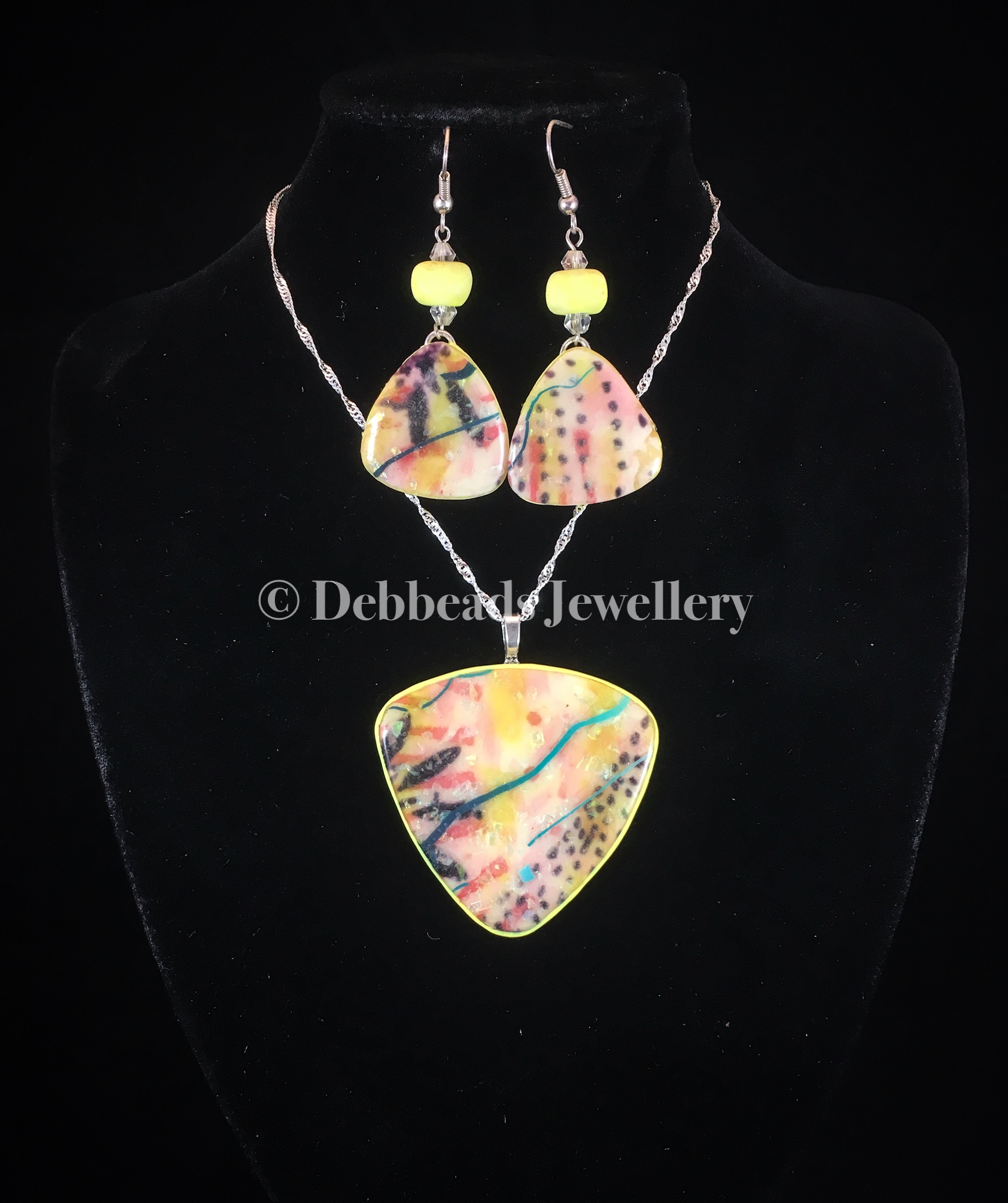 Yellow Mellow Pendant - set